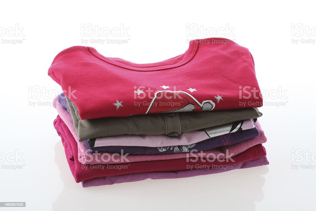 Girl's clothes royalty-free stock photo