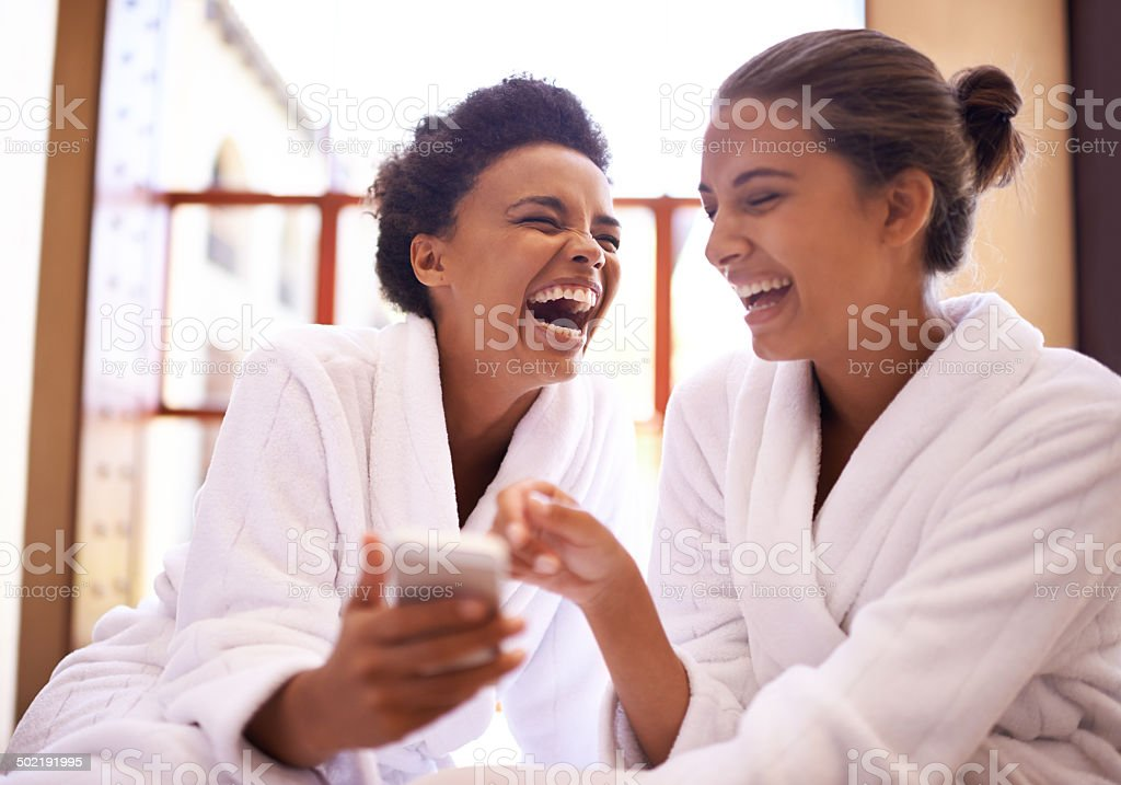 #Girls day at the spa! stock photo