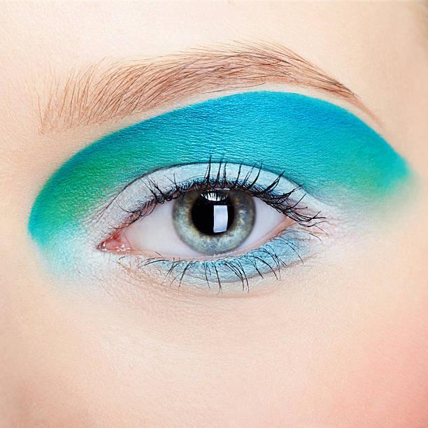 girl's Augen zone Make-up – Foto