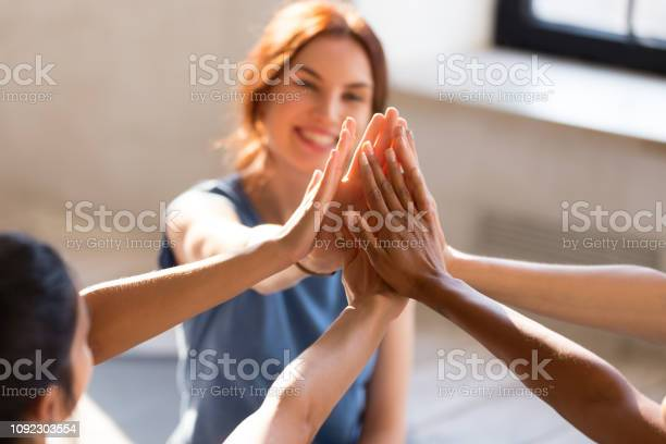 Girls giving high five close up focus on hands picture id1092303554?b=1&k=6&m=1092303554&s=612x612&h=k9bnrdunpzwb9pcwlew8rommhx8v6ma8kw0pijfad3e=
