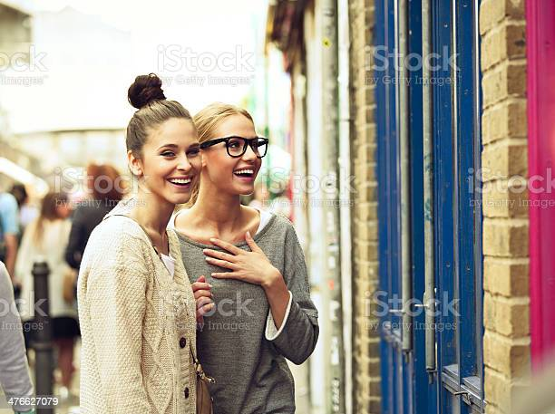 Girls In The City Stock Photo - Download Image Now