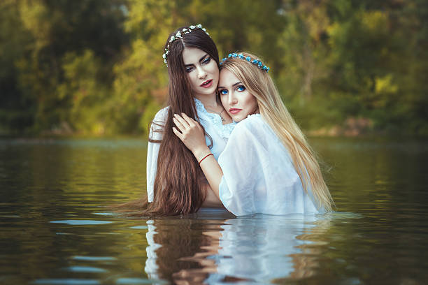 Lesbian Romantic Sex Stock Photos, Pictures & Royalty-Free
