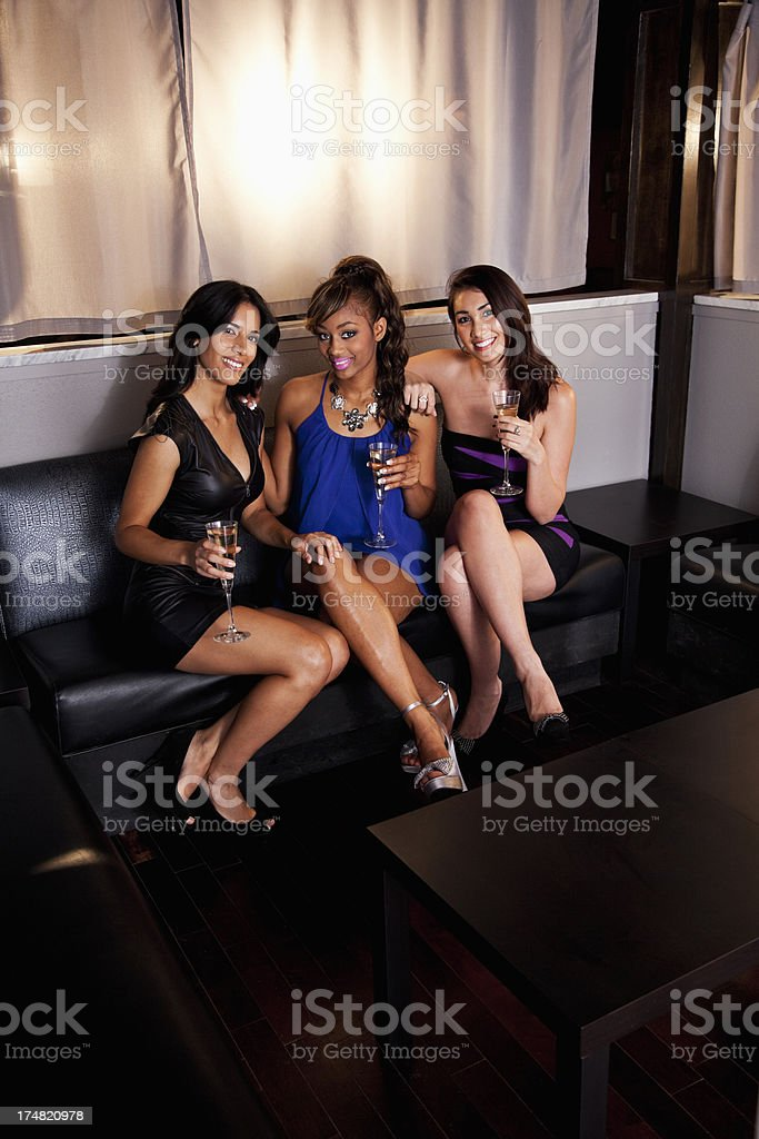 Girls night out royalty-free stock photo