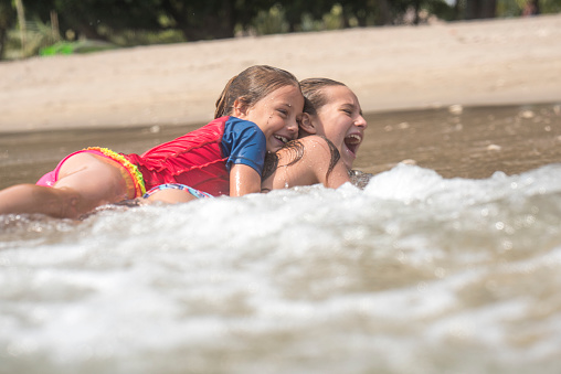 Girls On The Beach Stock Photo - Download Image Now - Istock-4729