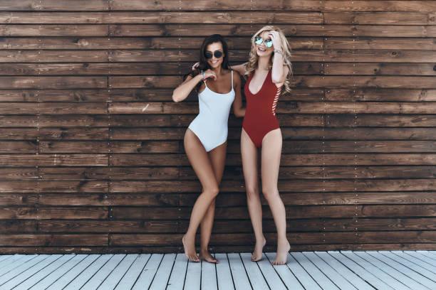 girls only! - costume foto e immagini stock