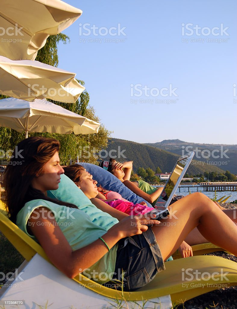 girls royalty-free stock photo