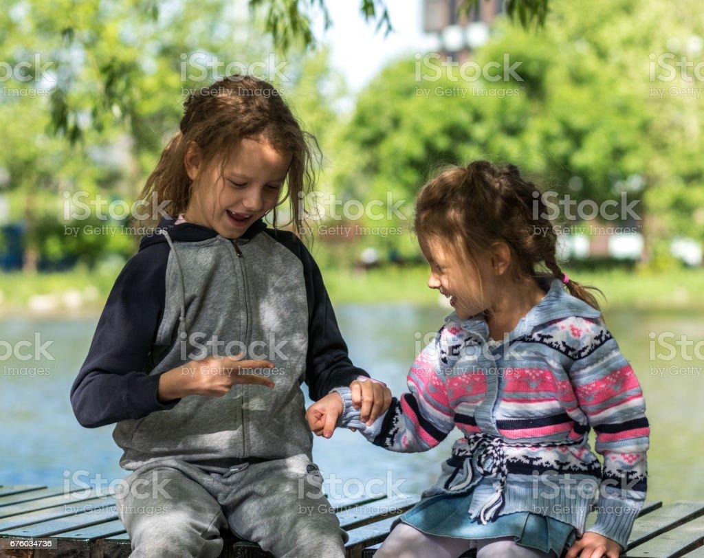 Photos de filles ciseaux