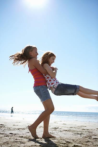 Girl On The Beach III Stock Photo - Image: 3997990