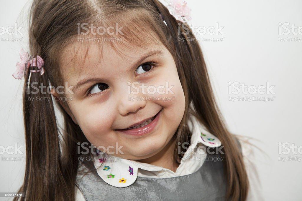Girl's portrait royalty-free stock photo