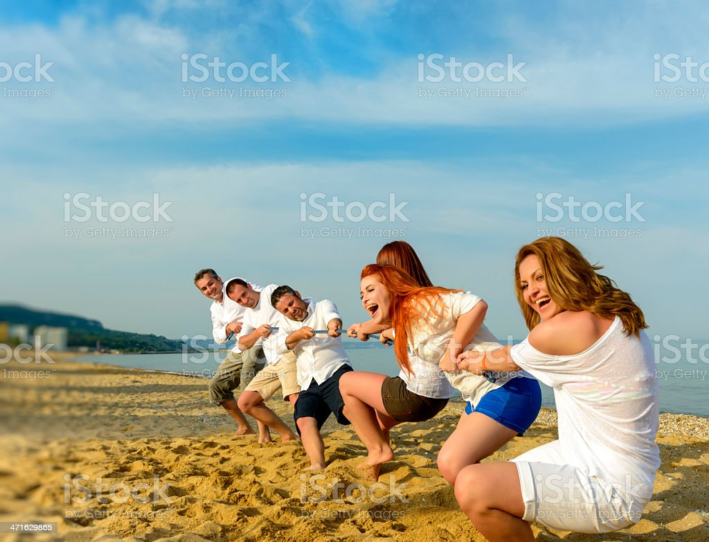 girls power stock photo