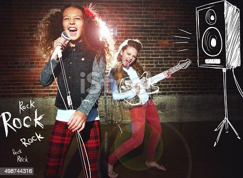 849362192istockphoto Girls rock! 498744316