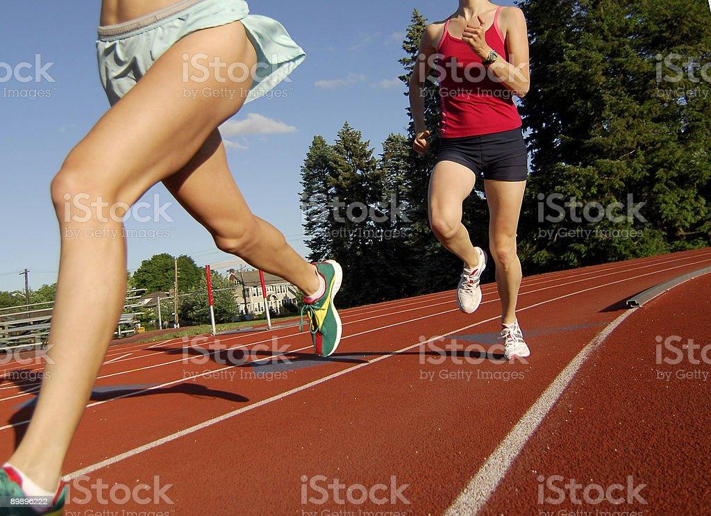 Girls бега, Стоковые фото Стоковая фотография