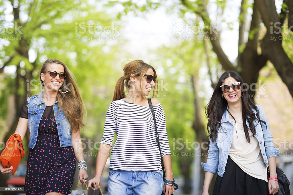Girls time out royalty-free stock photo