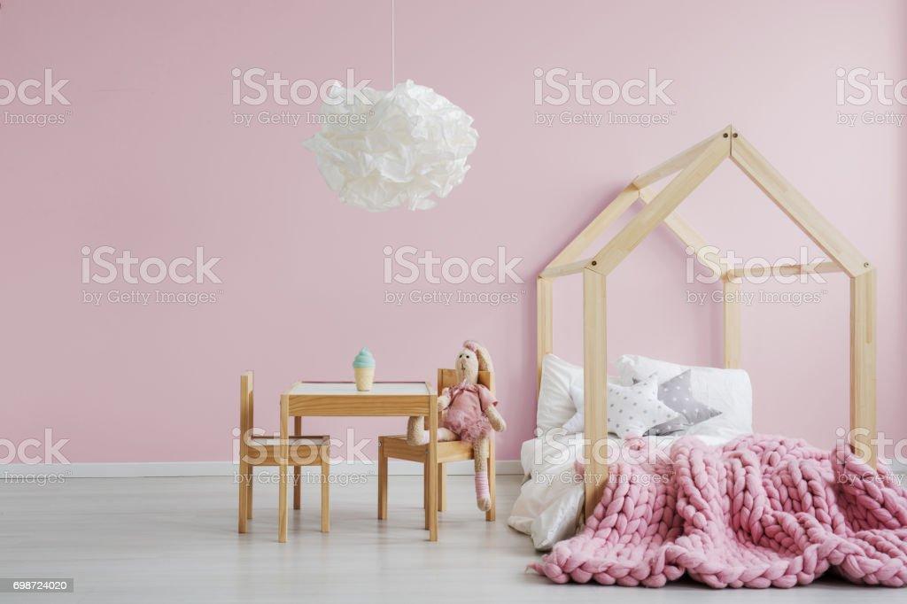 Girly scandi room