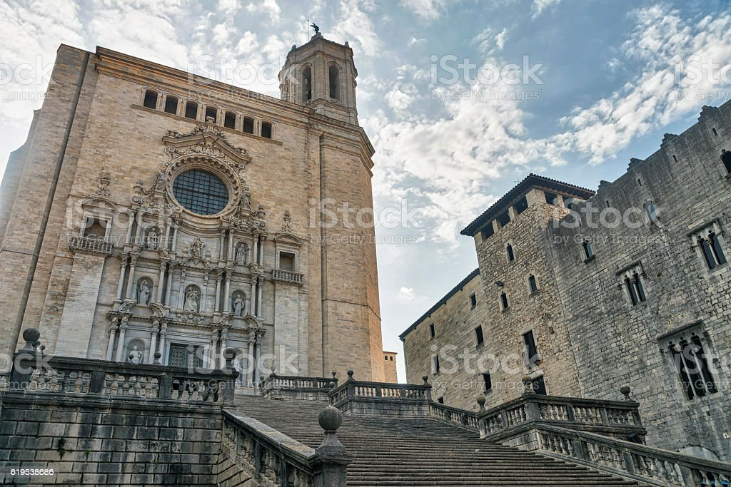 Girona (Catalunya, Spain), cathedral - Photo