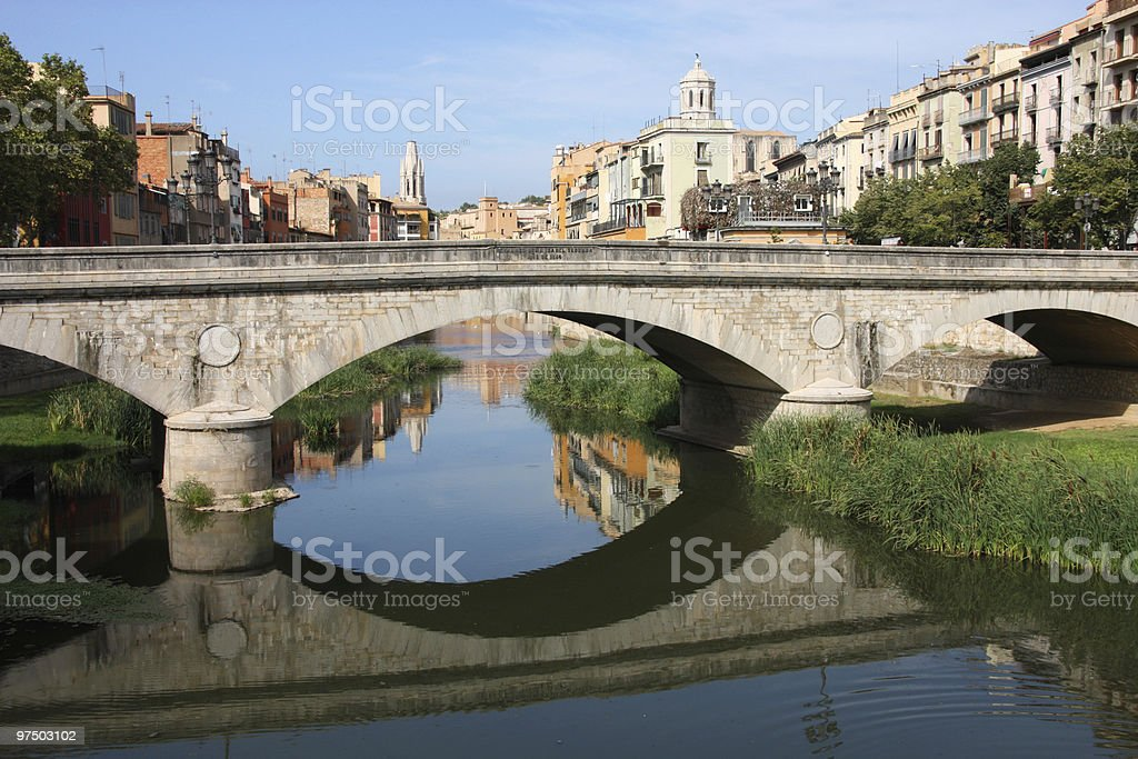 Girona royalty-free stock photo