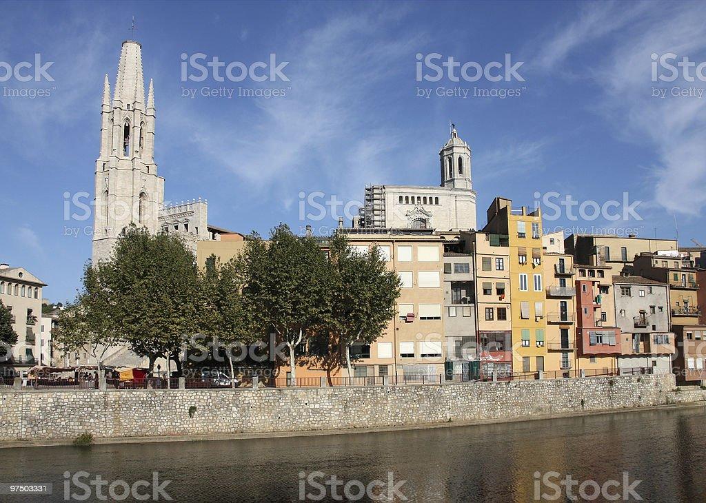 Girona royalty-free stock photo
