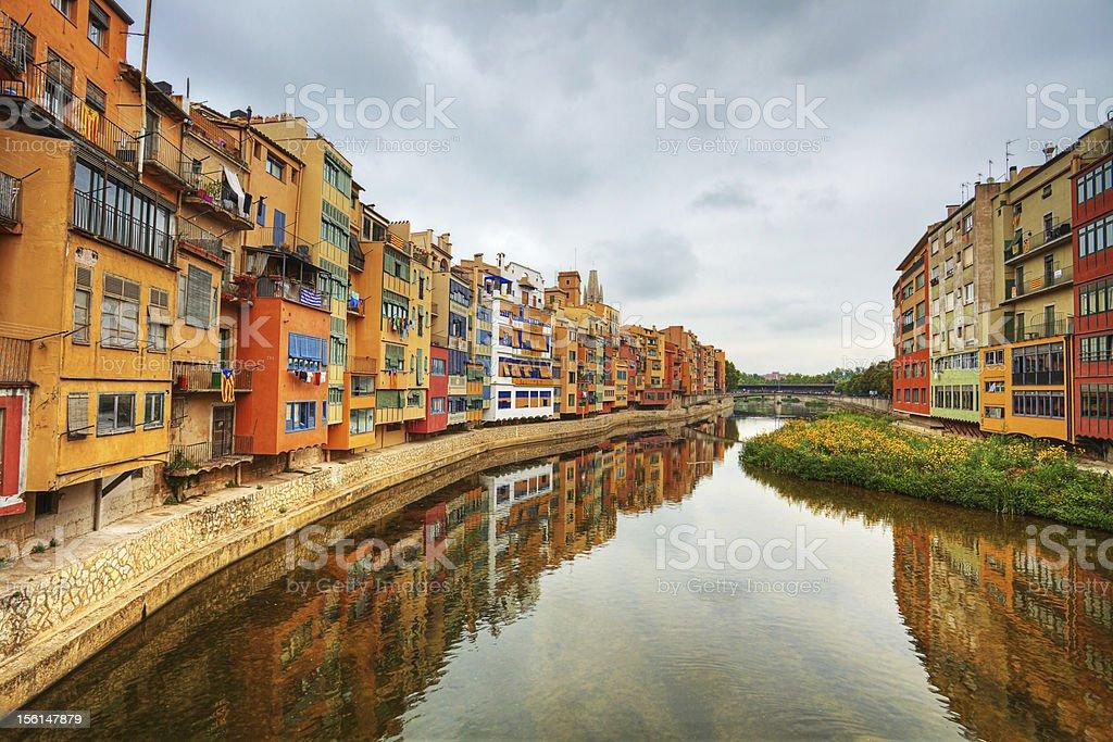 Girona. Spain. stock photo