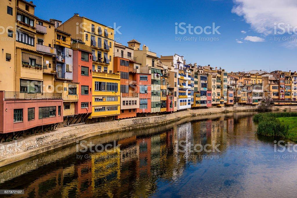 Girona Spain stock photo