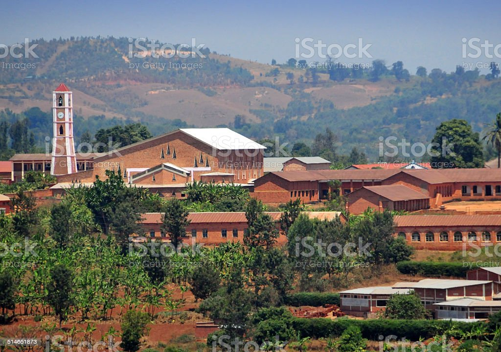 Gitega, Burundi, Central Africa stock photo