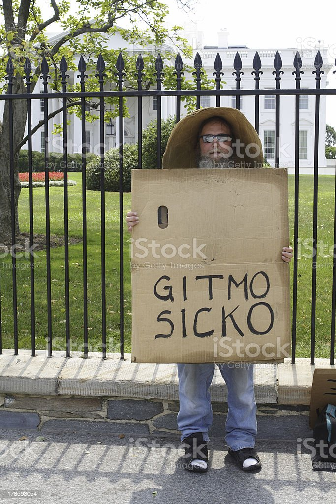 Gitmo Sicko royalty-free stock photo
