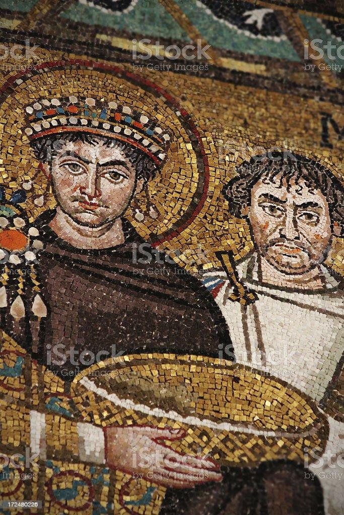 Giustiniano I stock photo
