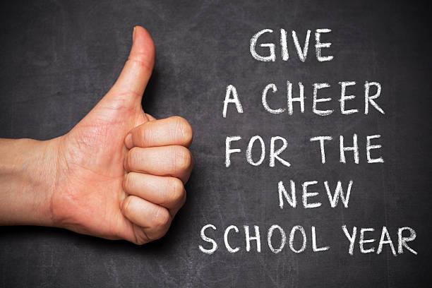 Sie eine Freude für das neue Schuljahr – Foto