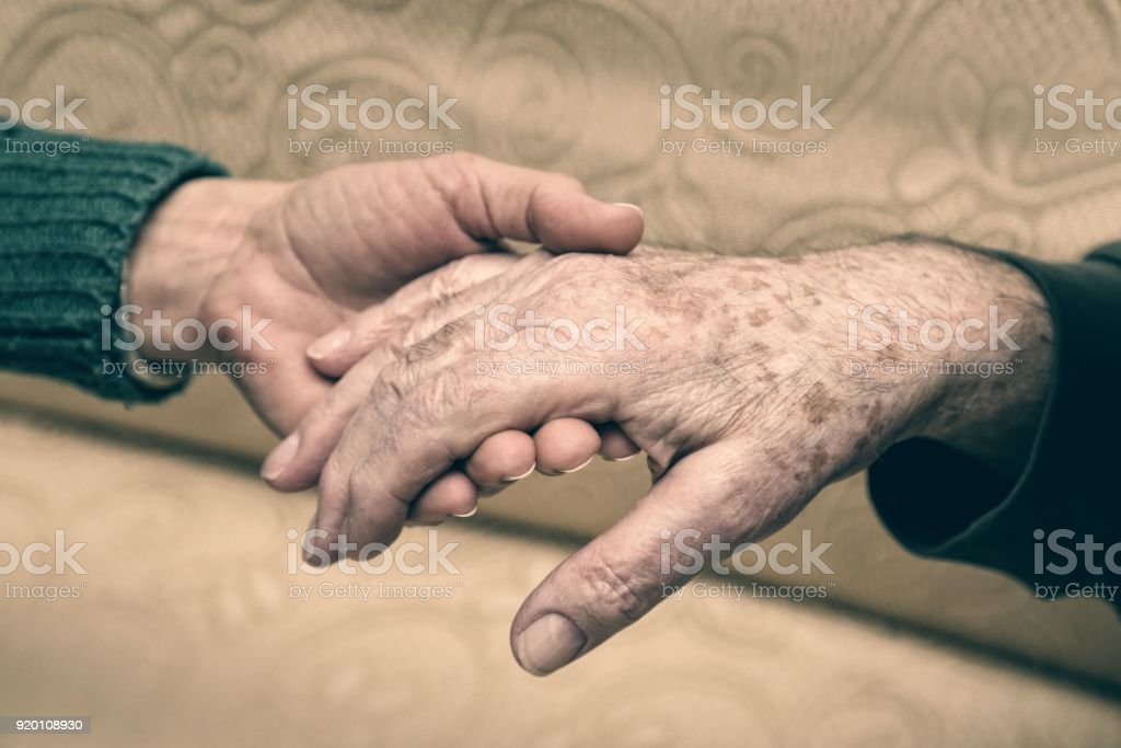 Give a hand to elderly people