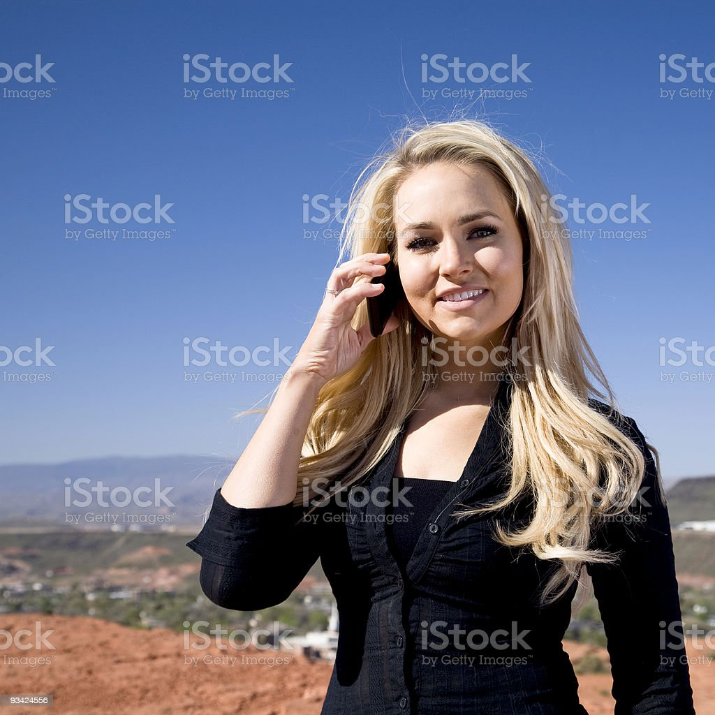 give me a call royalty-free stock photo