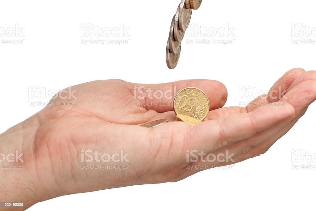 give me money stock photo