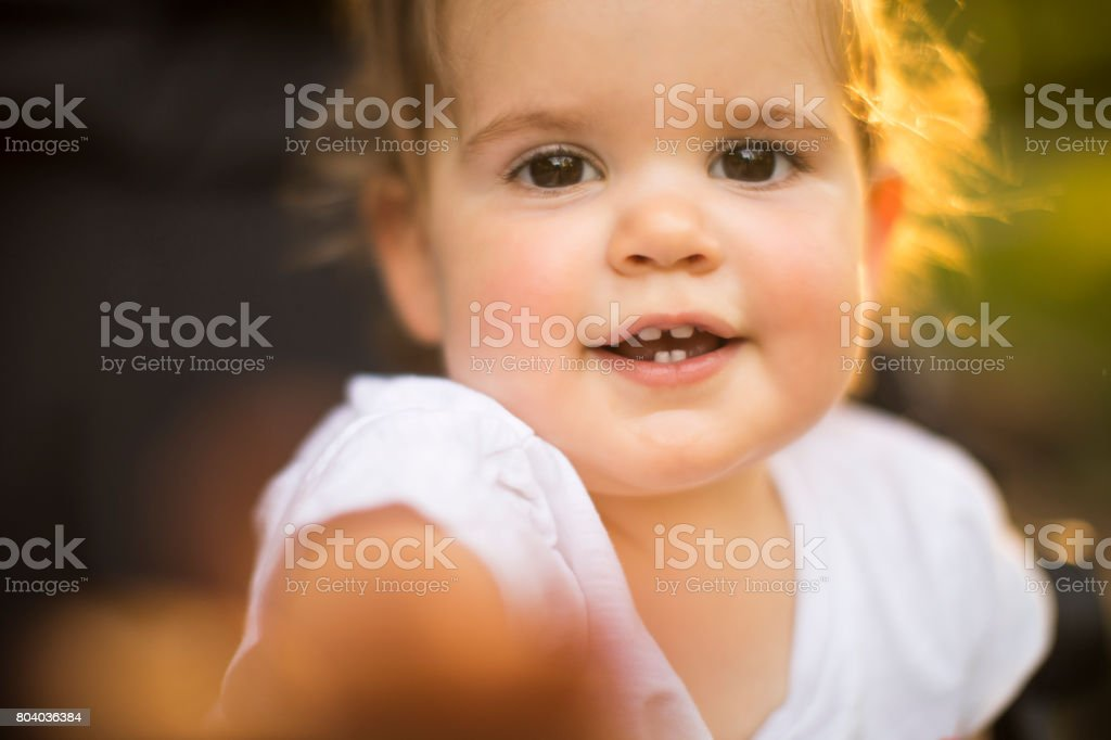 Give me that! stock photo