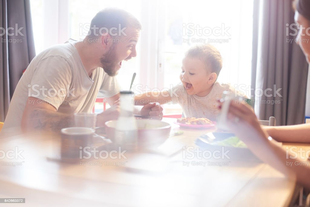 Give me yours daddy stock photo