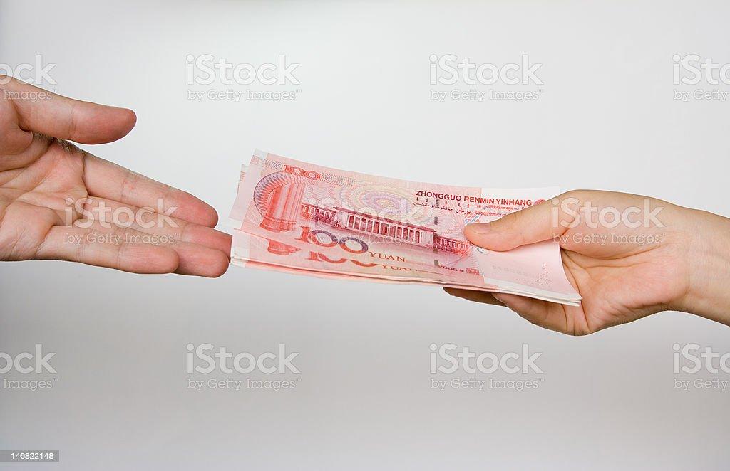 give money royalty-free stock photo