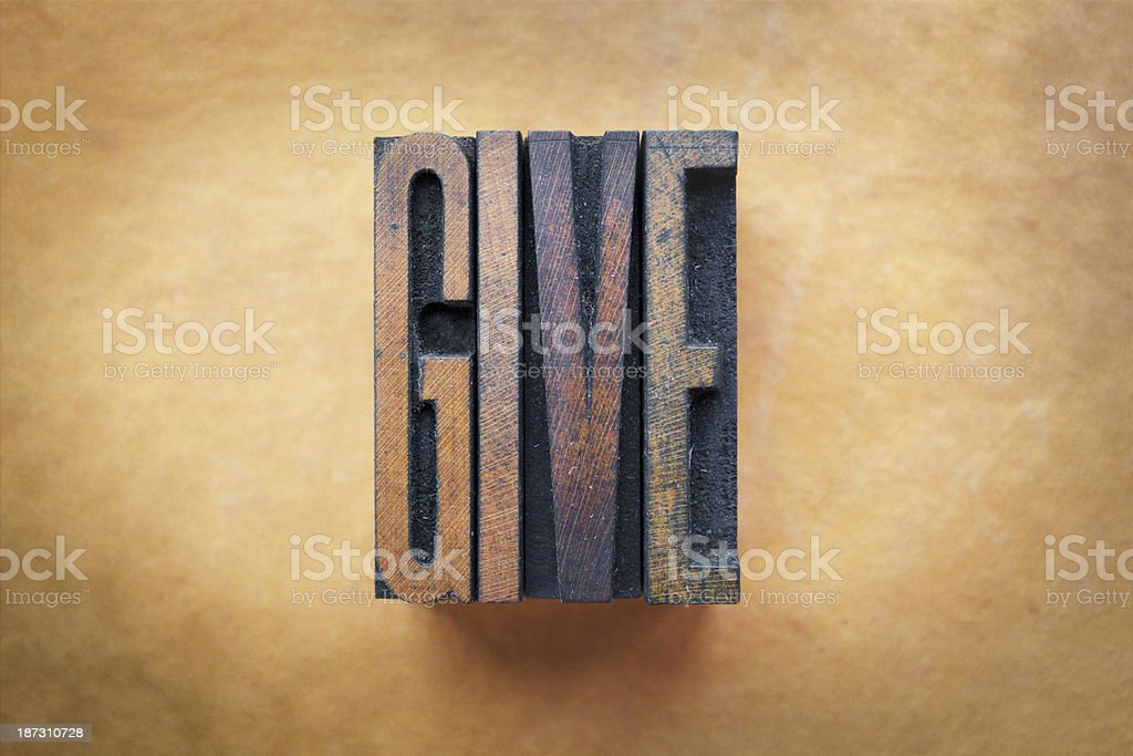Give royalty-free stock photo