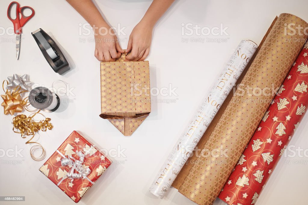 Give some magic this christmas stock photo