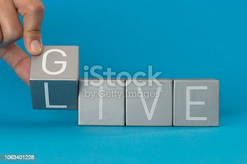 istock Give to Live 1063401228