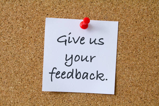 Give us your feedback. stock photo