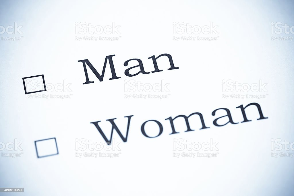 Give us your Opinion, Man or Woman - SeleniumTone stock photo