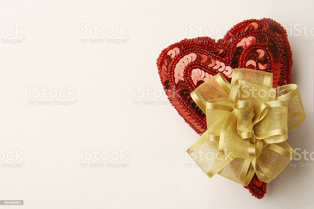 I give you my heart (right) royalty free stockfoto