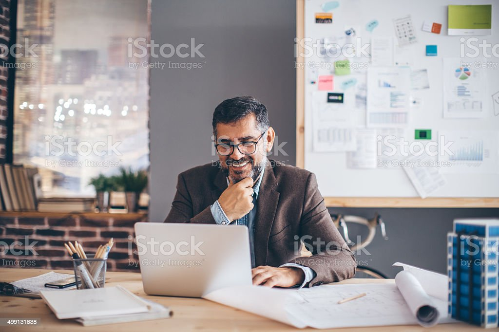 Giving 100% from 9-5 stock photo