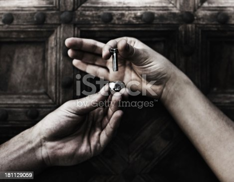 173706624istockphoto Giving a helping hand 181129059
