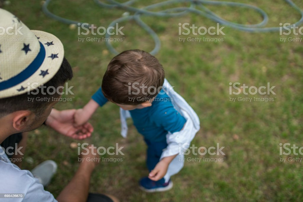 Giving and taking stock photo
