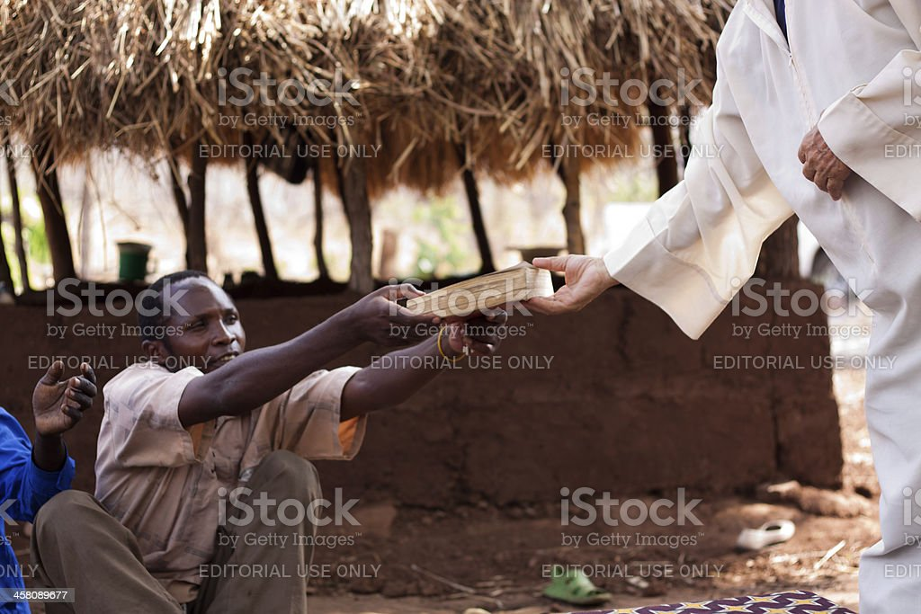 Giving Gesture stock photo