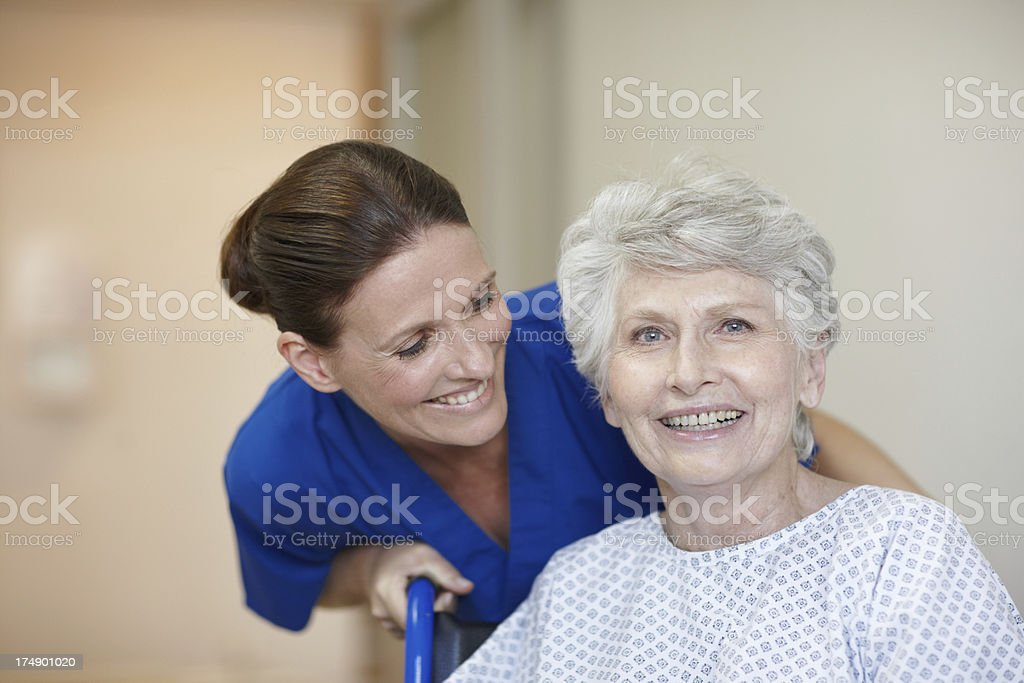 Giving great care and compassion royalty-free stock photo