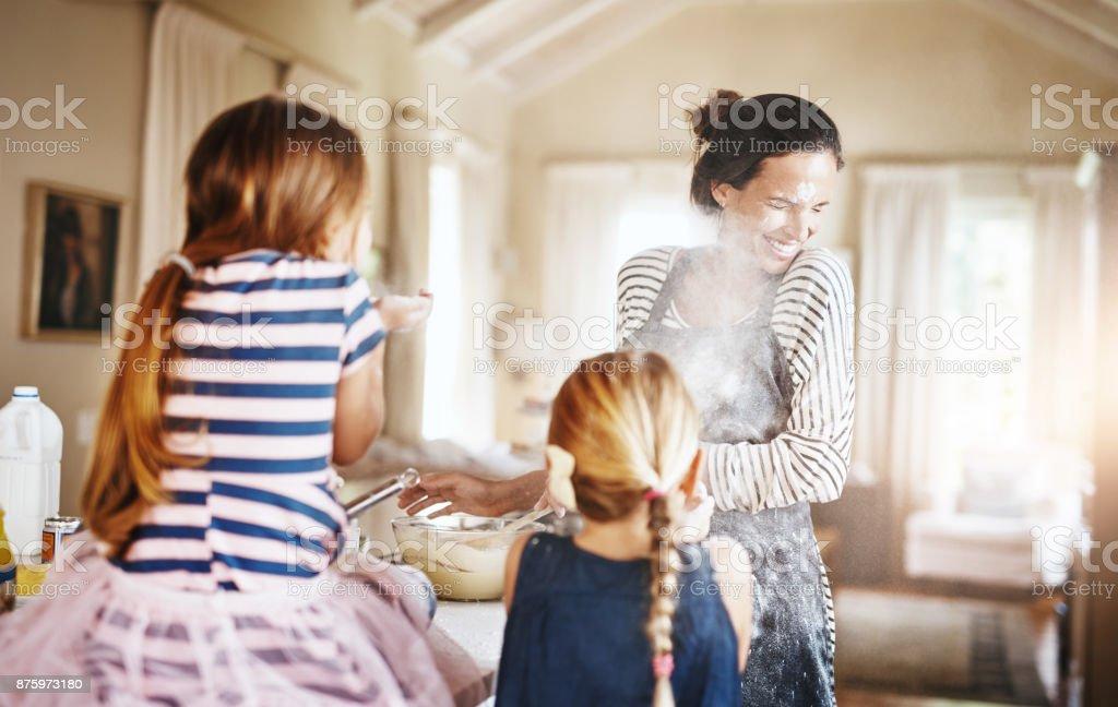 Geben ihren Kindern Spaß Erinnerungen für das Leben zu schätzen Lizenzfreies stock-foto