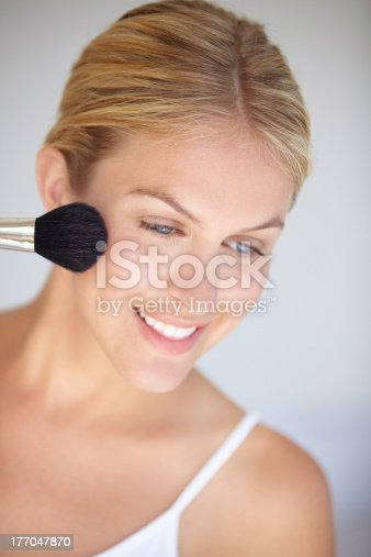 498422806 istock photo Giving her natural beauty a little boost 177047870