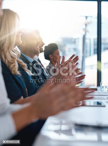 istock Giving recognition where recognition is due 908989338