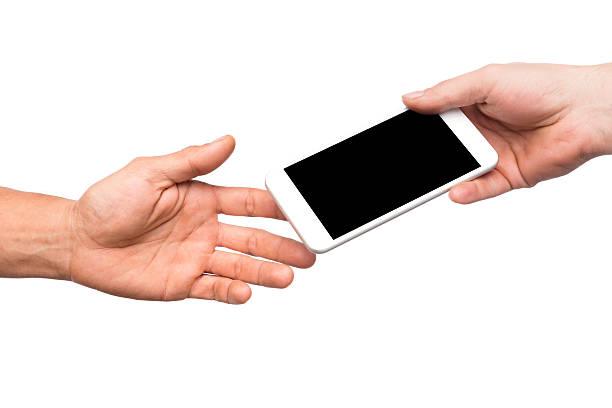 für smartphone - übergeben stock-fotos und bilder