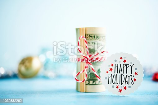Giving the gift of cash for the holidays