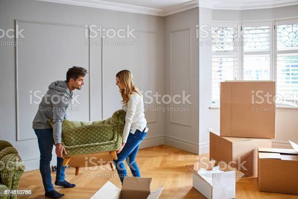 Giving their new home a touch of modern flair with stylish furniture picture id874810786?b=1&k=6&m=874810786&s=612x612&h=fybgbehspc5cetgieqnc70aupf7fz3zft9mmur9i43s=